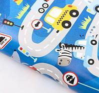Бумага упаковочная глянцевая «Самый быстрый», 50 х 70 см