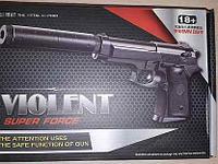 Детский металлический страйкбольный пистолет airsoft gun Модель NO.V1+ Цена 5500