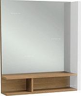 Зеркало Jacob Delafon TERRACE EB1180D-NF 60 cм, с деревянной полкой