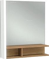 Зеркало Jacob Delafon TERRACE EB1180G-NF 60 cм, с деревянной полкой