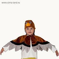Карнавальный костюм «Воробей», шапка, накидка, 5-7 лет, рост 122-134 см