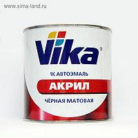 """Автоэмаль """"ВИКА"""" 1К акриловая, чёрная, матовая, 0,85 кг"""