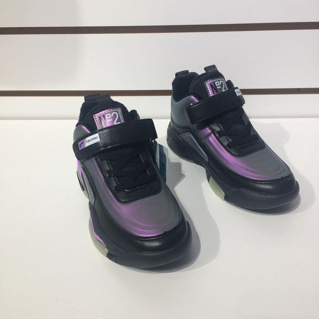 Детские кроссовки FUDRON на флисе - фото 4