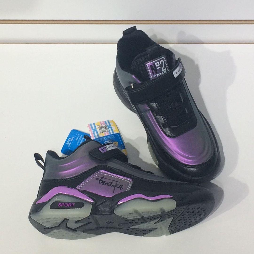 Детские кроссовки FUDRON на флисе - фото 5