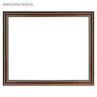 Рама для картин (зеркал) 40 х 50 х 3.3 см, пластиковая, Dorothy коричневая