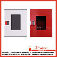 Дверь ОБ/ОК для ШПК-310 (открытая белая/красная) евроручка