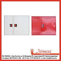 Дверь ЗБ/ЗК для ШПК-315 (закрытая белая/красная) евроручка