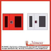 Дверь ОБ/ОК для ШПК-315 (открытая белая/красная) евроручка