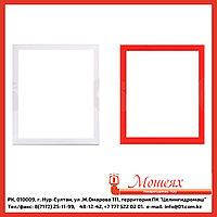 Рамка ШПК-310 белая/красная, ширина 45мм