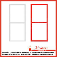 Рамка ШПК-320 белая/красная, ширина 45мм