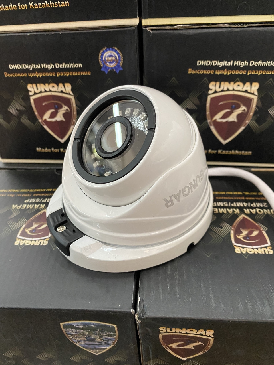 Купольная IP  камера видеонаблюдения IP-215 Poe