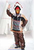 Костюм индейца. Алматы вождя племени