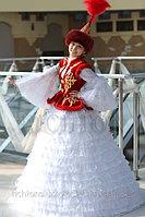 Продажа казахских платьев Алматы. Меховой жилет