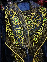 Мужские казахские костюмы. Снежный барс