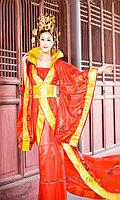 Китайский национальный костюм Алматы. Дракон со шлейфом