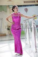 """Вечернее платье модель """"Рыбка"""" розовое купить. Фуксия"""