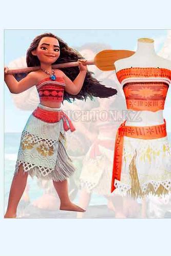 Карнавальный костюм детский Моана на рост 130-140  Алматы. Песчаный