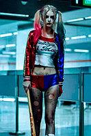 Костюм карнавальный женский на Хэллоуин Харли Квинн | Раздельный. Шорты секси