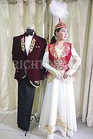 Прокат казахских костюмов Алматы, национальные платья | Парные дизайнерские