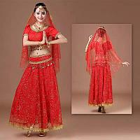 Индийский женский костюм летящий
