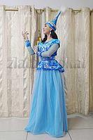Казахские национальные платья прокат. Национальная одежда аренда.