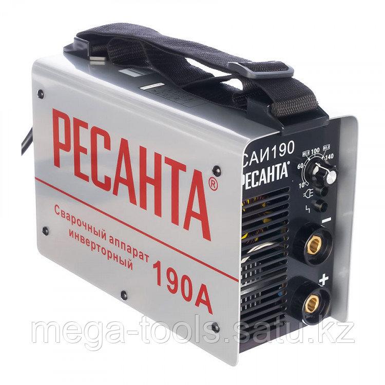 Инверторный сварочный аппарат Ресанта САИ-190