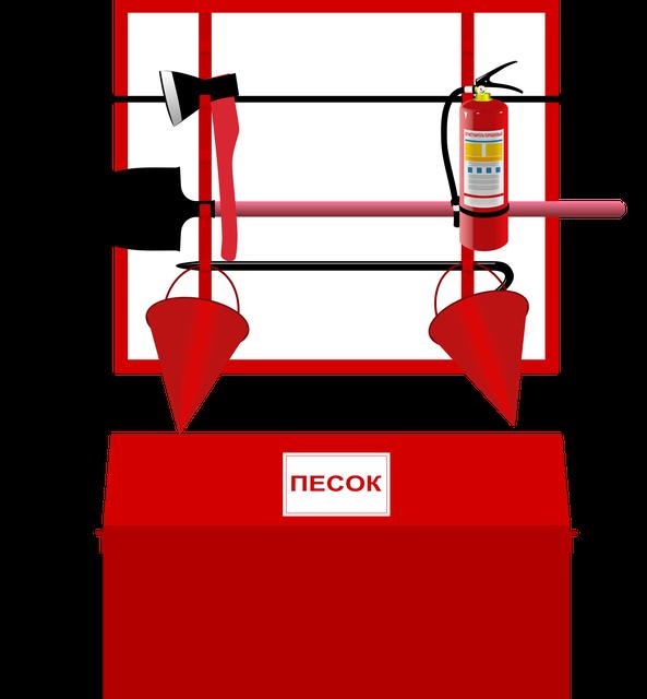 Щиты пожарные, ящики для песка,комплектующие для Щита пожарного