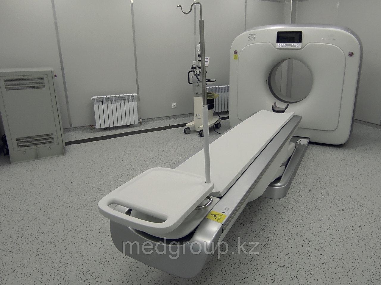 Подготовка помещения для установки компьютерного томографа (КТ)