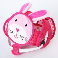 Шапка-шлем противоударный для детей, цвет розовый