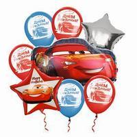 Воздушные шары, набор 'Тачки', Disney
