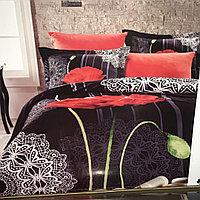 Постельное белье Prima Casa - PIZZA APAPAVERA, цвет черный (комплект евро)