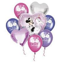 Воздушные шары, набор 'Минни Маус. Единорог', Disney