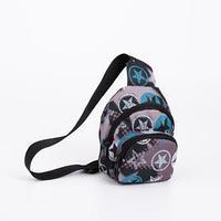 Сумка-рюкзак, отдел на молнии, наружный карман, дышащая спинка, цвет чёрный