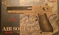 Детский металлический страйкбольный пистолет airsoft gun Модель K111D
