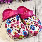 Кроксы детские , цвет ярко-розовый, 29 размер, фото 2