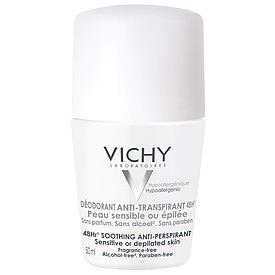 Виши Дезодорант шарик антиперспиран 48 часов для чувств кожи 50,0