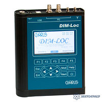 DIM-Loc прибор диагностики и локации дефектов в изоляции высоковольтного оборудования по частичным разрядам