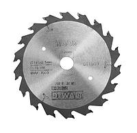 Пильный диск DEWALT EXTREME DT1089, 165/20, 1.6/2.3 18 FZ18°