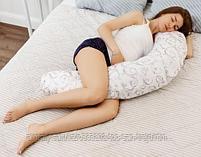 Подушка Roxy Kids для беременных( наполнитель полистерол/холлофайбер), фото 4