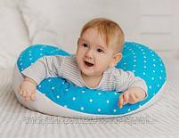 Подушка Roxy Kids для беременных( наполнитель полистерол/холлофайбер), фото 6