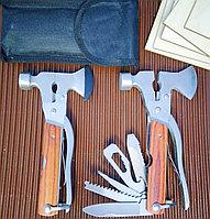 Инструмент топор-молоток 8 в 1