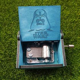 Музыкальная шкатулка Звездные войны (синяя)