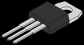 L7905CV-DG, Стабилизатор напряжения -5В, 1.5А, 4%, (0°C...+125°C), [TO-220]