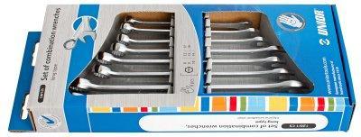 Набор ключей комбинированных удлинённых в картонной упаковке - 120/1CS UNIOR