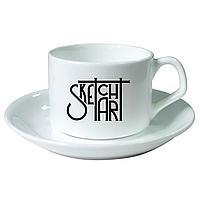 Кофейный набор с нанесением на чашечку