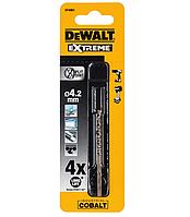 Сверло по металлу extreme2 кобальтовое hss-co 4.2x75x43 мм dewalt dt4961