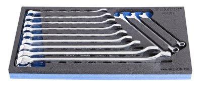 Набор ключей комбинированных IBEX в SOS-ложементе - 964/2BSOS UNIOR
