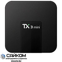 ANDROID TV BOX TX3 mini, Поддерживает Google Play, 4k Ultra HD, 2 ГБ ОЗУ