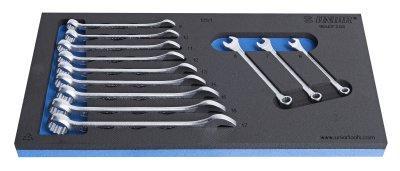 Набор ключей комбинированных в SOS ложементе - 964/2FSOS UNIOR