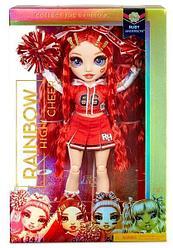 Кукла Рейнбоу Хай - Руби Андерсон - Черлидеры-Rainbow High Cheerleader Squad Ruby Anderson (красный)